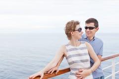 Couple cruising Stock Photos