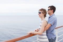 Couple cruising Royalty Free Stock Image