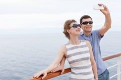 Couple cruising Stock Photo
