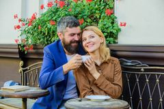 Couple cuddling cafe terrace. Things know before you date businessman. Find and date businessman. Girl dating with. Businessman. Couple in love sit cafe terrace royalty free stock image