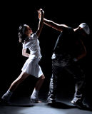 couple dance Стоковое фото RF