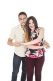 Couple dance move Stock Photography