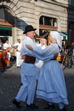 Couple dance stock images