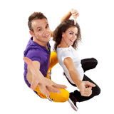 Couple of dancer Royalty Free Stock Photos