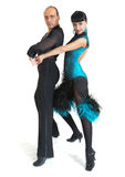 Couple dancers latina style Stock Photo