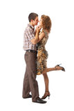 Couple dancing Royalty Free Stock Photos