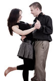 Couple is dancing Stock Photos
