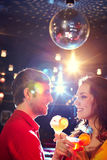 Couple dancing in club Royalty Free Stock Photo