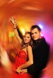 Couple dancing in the night club Stock Photo