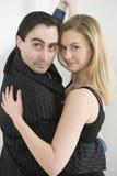 Couple dancing tango Royalty Free Stock Image