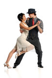 Couple Dancing Tango Royalty Free Stock Image