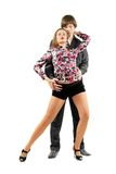 Couple dancing tango Royalty Free Stock Photography