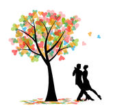 Couple dancing the tango Royalty Free Stock Photo