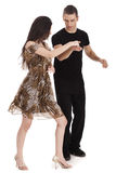 Couple  Dancing together Royalty Free Stock Photos