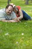 Couple on date Royalty Free Stock Photos