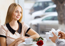 Couple on date Royalty Free Stock Image