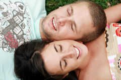 Couple dating royalty free stock images