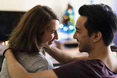 Couple Dating Happiness Enjoyment Holiday Concept Royalty Free Stock Photo