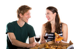 Couple dating Royalty Free Stock Photo