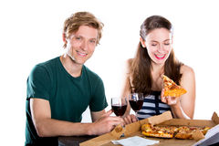 Couple dating Royalty Free Stock Photos