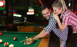 Couple dating and having fun Stock Photography