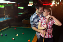 Couple dating and having fun Stock Photo