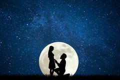 Free Couple Declare Love To Each Other Stock Photo - 144816130