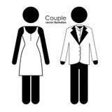 Couple design Stock Photos