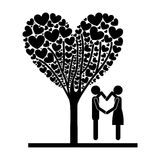 Couple design Stock Image