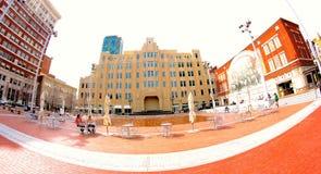 Sundance Square, Fort Worth Texas Royalty Free Stock Photo