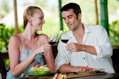 Couple Dining Royalty Free Stock Photos