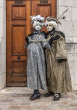 Couple Disguised Stock Images