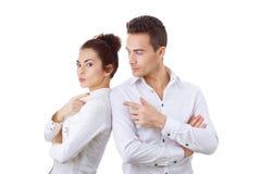 Couple in divorce crisis Stock Photos