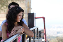 Couple do sightseeing in Athens Royalty Free Stock Photo