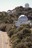 A Couple Do a Walking Tour of Kitt Peak Stock Images