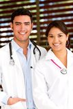 Couple of doctors Stock Photography