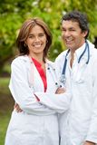 Couple of doctors Stock Image