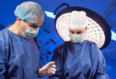 Doctors Surgery Operating Room Royalty Free Stock Photo