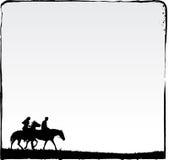 Couple doing Romantic ride. Royalty Free Stock Photo