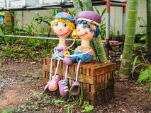Couple doll Royalty Free Stock Photography