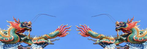 Couple of dragon Royalty Free Stock Images