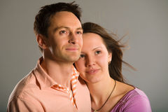 Couple dreaming Stock Photography