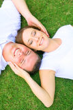 Couple Dreaming Royalty Free Stock Image