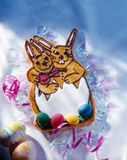 Couple of easter bunnies Royalty Free Stock Photo