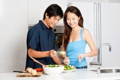 Couple Eating Stock Photos