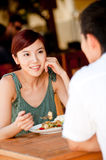 Couple Eating Stock Images