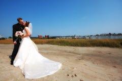 Couple Ebracing Stock Images