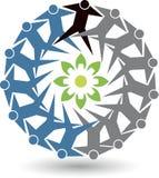 Couple Eco gear logo Stock Image