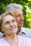 couple elderly happy Стоковые Изображения