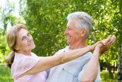 couple elderly happy Стоковое фото RF